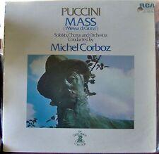 """Puccini/Corboz  Mass """"Messa di Gloria""""   RCA Red Seal"""