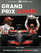 GRAND PRIX 2008 The Official ITV Sport Guide  by Bruce Jones   Paperback 2008