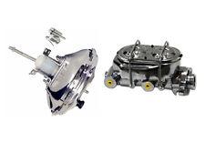 "11"" GM Chrome Single Diaphragm Brake Booster & Dual Bail Cap Master Cylinder"