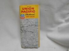 1963 Union Pacific System Overland Route Railroad Time Tables Guide 43 pages