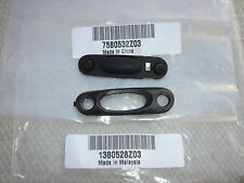 MOTOROLA GP320 & GP330 PUSH TO TALK PTT BUTTON (7580532Z03) & BEZEL (1380528Z03)