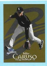 1999 Fleer Brilliants Gold Mike Caruso White Sox 7/99