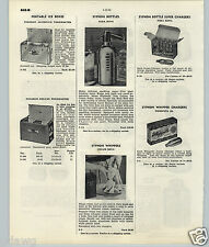 1951 53 PAPER AD Soda King Syphon Bottle Cream King Whipper Chargers Whippets JR