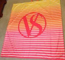 VICTORIAS SECRET ~ LIMITED EDITION ~ SUNSET BEACH BLANKET ~ LARGE ~ NEW