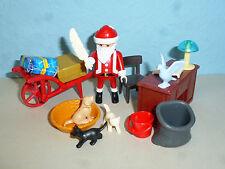 Weihnachten Büro vom Weihnachtsmann Playmobil 005
