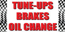 2'x4' TUNE-UP/BRAKES/OIL CHANGE Auto Body Shop Car Banner Sign