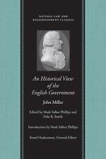 An Historical View of the English Government by John Millar (2006, Paperback)