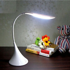 Creative Swan Shape Flexible Table Lamp LED Rechargeable Desk Light + AC Adapter