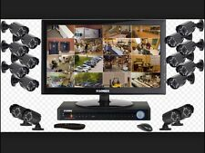 Security cameras and alarm system installation services
