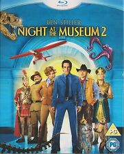 NIGHT AT THE MUSEUM 2 - ESCAPE FROM THE SMITHSONIAN (NEW/SEALED BLU-RAY 2009)