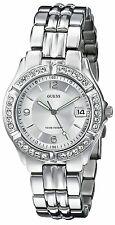 GUESS Women's G75511M Sporty Silver-Tone Stainless Steel Multi-Function Watch...