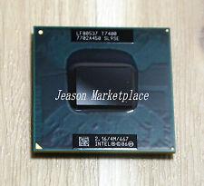 Intel core 2 duo T7400 SL9SE 2,16 ghz / 4 m / 667 processeur