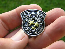 UK ~ RESIDENT EVIL STARS LAPEL PIN Badge NEW S.T.A.R.S. RACOON POLICE DEPT Movie