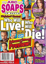 Who Will Live Who Will Die On General Hospital  Feb. 16, 2015 ABC Soaps In Depth