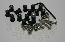 Fasteners M5 rubber well nuts & screws x 15 - Ducati SS ST Fairing ++