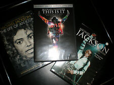 Michael Jackson This Is It 2 Disc Limited Edition DVD Life Of An Icon Superstar