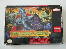 SUPER GHOULS'N GHOST - USA   - Super Nintendo SNES