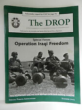 GREEN BERET, THE DROP MAGAZINE, SUMMER 2003 ISSUE, SPECIAL FORCES ASSOCIATION