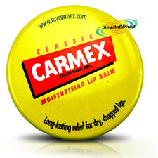 Carmex Classic Moisturising Lip Protection Balm Pot For Dry Chapped Lips 7.5g