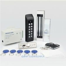 RFID Card Door Access Control System+ 180kg Magnetic Lock+ 2Remote Controls