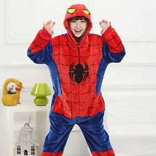 Unisex Adult Cartoon Pajamas Kigurumi Cosplay Costume Onesie Sleepwear Dress New