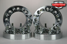 """Ford Wheel Spacers 8x170 2.5"""" Thick 14x2 Studs Super Duty 1999-2002 Set of 4"""