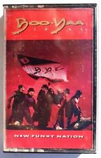 Vintage BOO-YAA T.R.I.B.E. New Funky Nation TAPE CASSETTE US 1990 Island Records