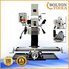 """METALWORKING MILLING MACHINE 27 1/2"""" x 7"""" VARIABLE SPEED MILL DRILL"""