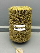 200G GREEN MUSTARD MIX COLOUR 2/11.5NM LAMBSWOOL YARN ASPARAGUS