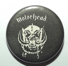 "MOTORHEAD War Pig Vintage 1980`s Button Pin Badge(25mm-1"")Whte not patch lp"