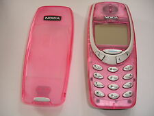 Refurbished PINK  Nokia 3330 Unlocked Simple Basic Mobile Phone VGC, LOOKS SUPER