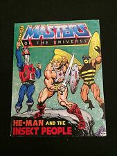 MASTERS OF THE UNIVERSE: HE-MAN AND THE INSECT PEOPLE Mini-Comic VG Condition