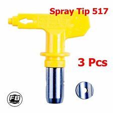 3 Pcs Airless Spray Tip Nozzle 5 Series 517 for Titan Wagner Graco Paint Spraye
