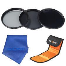 58mm ND2 ND4 ND8 Graufilter Neutralfilter Neutral Density ND Objektiv Filter Set