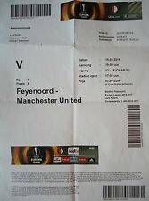 Online TICKET UEL 2016/17 Feyenoord vs Manchester United