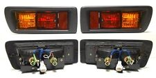 Toyota Land Cruiser 90 J9 995-2002 SUV Tail Rear Bumper Fog Lights Lamps one SET