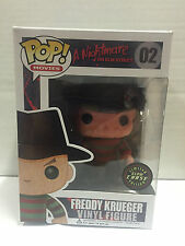 Funko Pop Movies Freddy Krueger #2 Chase Variant Glow Limited BRAND NEW RETIRED