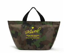 Women Lady Girl school office Army Green Camo Camouflage Tote Carry Lunch Bag