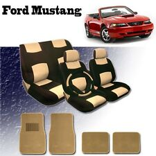 1998 1999 2000 2001 2002 For Ford Mustang Seat Covers Mats