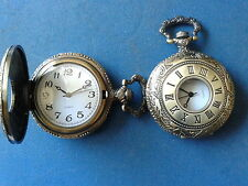 POCKET WATCH NO.20 HALF HUNTER,ANTIQUE STYLE,IDEAL GIFT/COLLECTABLE
