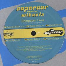 SUPERCAR - Computer Love, Feat. Mikaela - Rise