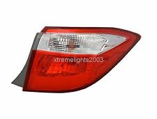 TOYOTA COROLLA 2014-2016 RIGHT PASSENGER OUTER TAIL LIGHT TAILLIGHT REAR LAMP