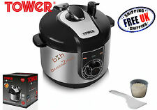 Tower 5L NonStick Electric Multi Function Pressure Rice Cooker Steamer Keep Warm