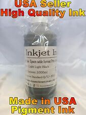 1 light light Black pigment bulk ink for EPSON surecolor p7000 p9000 refill LLK
