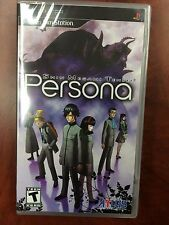 Shin Megami Tensei: Persona (Sony PSP, 2009) NEW FACTORY SEALED