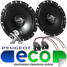 "Peugeot Partner Tepee Outdoor JVC 17cm 6.5"" 600 Watts 2 Way Front Door Speakers"