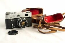 1967 Fed 3 Soviet Vintage Film Camera Leica Copy