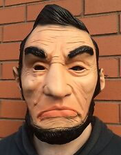 The Purge 3 Abraham Lincoln Mask Abe Halloween Fancy Dress Election Year Latex