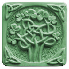 Celtic Clover Soap Mold - Melt & Pour, Cold Process w/Instructions
