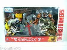 TRANSFORMERS 4 Age Of Extinction - GRIMLOCK Toys R Us Exclusive Evolution 2 pack
